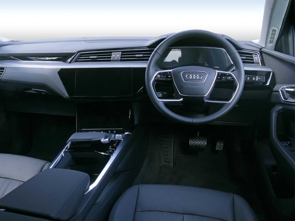 Audi e-tron 230kW 50 Quattro 71kWh Black Edition 5dr Auto