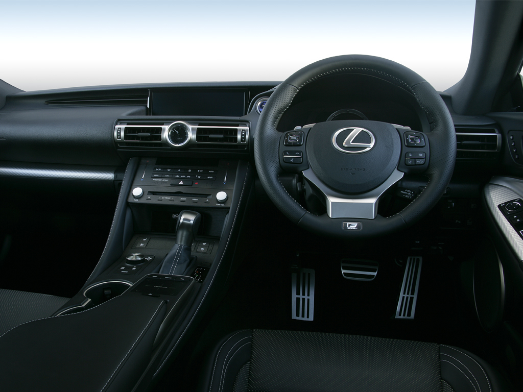 Lexus Rc 300h 2.5 F-Sport 2dr CVT Sunroof